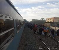 بعد خروج قطار عن القضبان.. عودة حركة قطارات الصعيد لطبيعتها