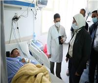 وزيرة الصحة توجه بسرعة البدء في رفع كفاءة مستشفى بئر العبد
