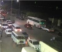 عودة حركة المرور بكورنيش النيل إثر انقلاب مقطورة