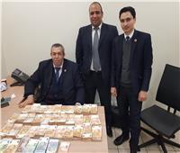 ضبط راكب بحوزته 185 ألف يورو بمطار القاهرة