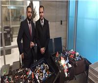 إحباط محاولة تهريب كمية من الشيش الإلكترونية بمطار القاهرة