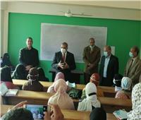 رئيس جامعة الأزهر يشدد على الإجراءات الاحترازية بالفيوم