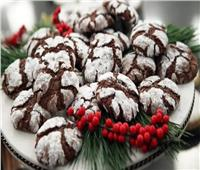 «أكلات الكريسماس».. «بسكويت الشوكولاتة بالسكر»