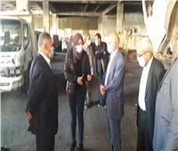 نائب محافظ القليوبية تفحص المعدات وسيارات الحملة بطوخ وشبرا