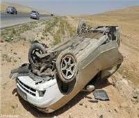 إصابة 9 في انقلاب سيارة بـ«الوادي الجديد»