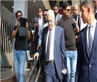 وصول مرتضى منصور لمجلس الدولة لحضور الطعن على وقف نشاطه