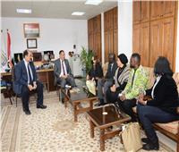 جامعة أسيوط تستقبل وفداً من جنوب السودان والكونغو الديمقراطية