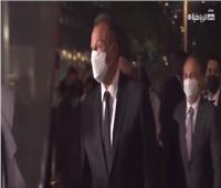 لحظة وصول «الخطيب» لاستلام جائزة «جلوب سوكر».. فيديو