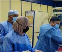 إجراء ٥ حالات قسطرة قلبية بمستشفى الزقازيق العام