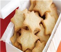 «أكلات الكريسماس».. «بسكويت النجوم بالليمون والسكر»
