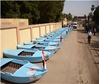 «مراكب الرزق».. تصل لـ«مراسى» الصيادين في دشنا