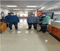 8 حالات تعافي من «كورونا» تغادر مستشفى العديسات بالأقصر