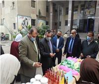 افتتاح معرض منتجات التعليم الزراعي بالمنوفية| صور