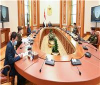 الرئيس السيسي يوجه بمواصلة العمل بكافة المشروعات القومية