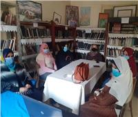 «ثقافة المنيا» تقدم ورشة فنية لبراعم ذوي القدرات الخاصة بسمالوط