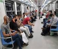 «الموجة الثانية لا ترحم».. عقوبة عدم ارتداء الكمامة في مترو الأنفاق