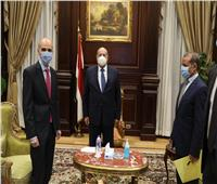 رئيس مجلس الشيوخ يستقبل سفير جورجيا بالقاهرة