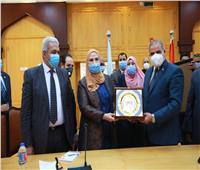 «القباج» و«المحرصاوي» يوقعان بروتوكول لإنشاء وحدة تضامن بجامعة الأزهر