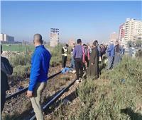 مصرع شاب أسفل عجلات القطار بمحافظة المنيا 