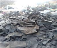 وقود ومقاطف ونجيل صناعي.. الذهب الأسود في قريتي «الكاوتش» بالغربية | فيديو