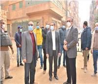 محافظ الغربية يتابع أعمال رصف شوارع  السنطة وزفتى
