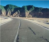 إعادة فتح طريق «القصير- قفط» بعد تحسن حالة الطقس