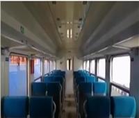 عربات القطارات الروسية من الداخل قبل وصول 13 عربة جديدة.. فيديو