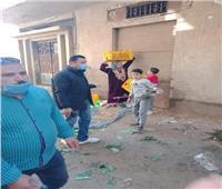 فض الأسواق في قرى محافظة الغربية لمواجهة فيروس كورونا