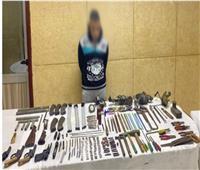 مداهمة ورشتين لتصنيع الأسلحة النارية بسوهاج