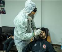 فريق الأهلي يجري مسحة طبية استعدادا لمواجهة وادي دجلة