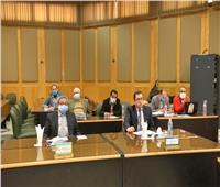 لمنع انتشار كورونا التشديد على الإجراءات الاحترازية بمجلس جامعة أسيوط