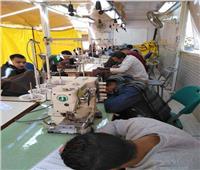 القوى العاملة بالقليوبية: متابعة لبرامج التدريب المهني بوحدة التدريب المتنقلة