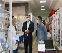 رئيس جامعة أسوان: إقبال كبير على معرض الكتاب