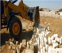 حملة إزالة مباني على أملاك الدولة في الجيزة