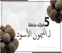 إنفوجراف   5 فوائد مذهلة لـ«الليمون الأسود».. «خسارة الوزن» أبرزها