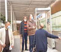 محافظ أسيوط يتفقد المركز الصحي الحضري للتأكد من جاهزيته لتوزيع لقاح كورونا