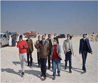 محافظ أسيوط يتفقد أعمال تنفيذ جامعة بدر ومشروع بورتو بمدينة ناصر