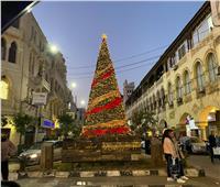صور| «القاهرة» تستعد للعام الجديد بتزيين الشوارع