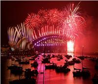 صور| أستراليا تستقبل العام الجديد بألعاب نارية وشوارع خاوية