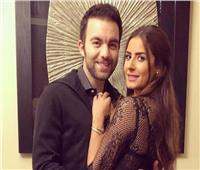 ريهام أيمن تهنئ زوجها شريف رمزي بعيد ميلاده: حب حياتي| فيديو