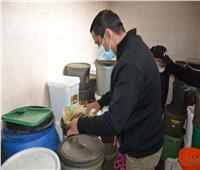 ضبط 532 كيلو لحوم مجهولة المصدر بمطعم شهير في الإسكندرية