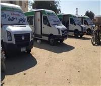 انطلاق قافلة طبية مجانية بواحة الفرافرة في الوادي الجديد