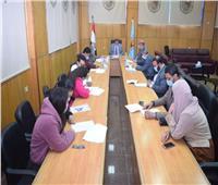 جامعة سوهاج تتعاقد مع الفرق الفائزة في برنامج الحاضنات التكنولوجية