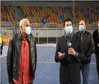 وزير الرياضة: استاد القاهرة جاهز لاستضافة المباريات 15 يناير