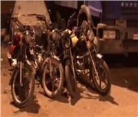 سقوط لص الدراجات النارية بمصر القديمة