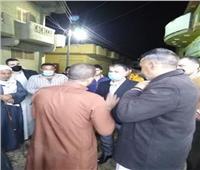 محافظ الإسكندرية يكلف بالتعامل الفوري مع هبوط أرضي بالعامرية.. صور