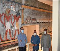 إعادة افتتاح مقبرة رمسيس الأول بوادي الملوك بعد ترميمها