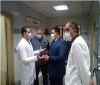 نائب محافظ القاهرة يتفقد مستشفى التأمين الصحي بشبرا