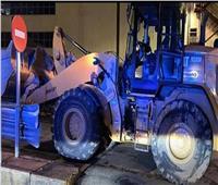 عامل يحطم 50 سيارة فارهة بإسبانيا «صور»