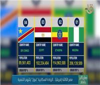 مصر الثالثة إفريقيا.. الزيادة السكانية «غول» يلتهم التنمية   فيديو